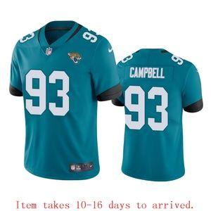 Jaguars #93 Calais Campbell Jersey